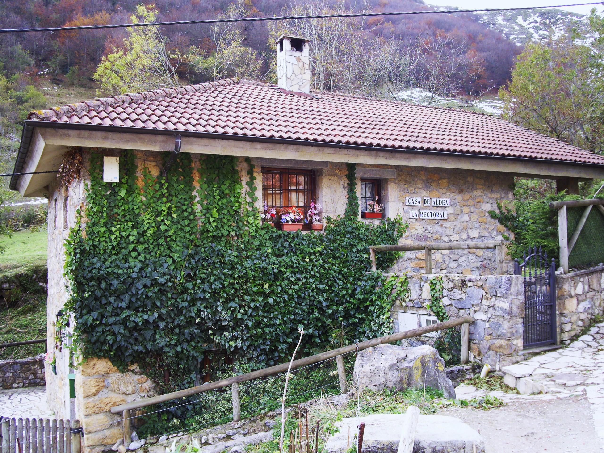 Casa de aldea la rectoral turasturias turismo rural en asturias - Casas de aldea asturias ...